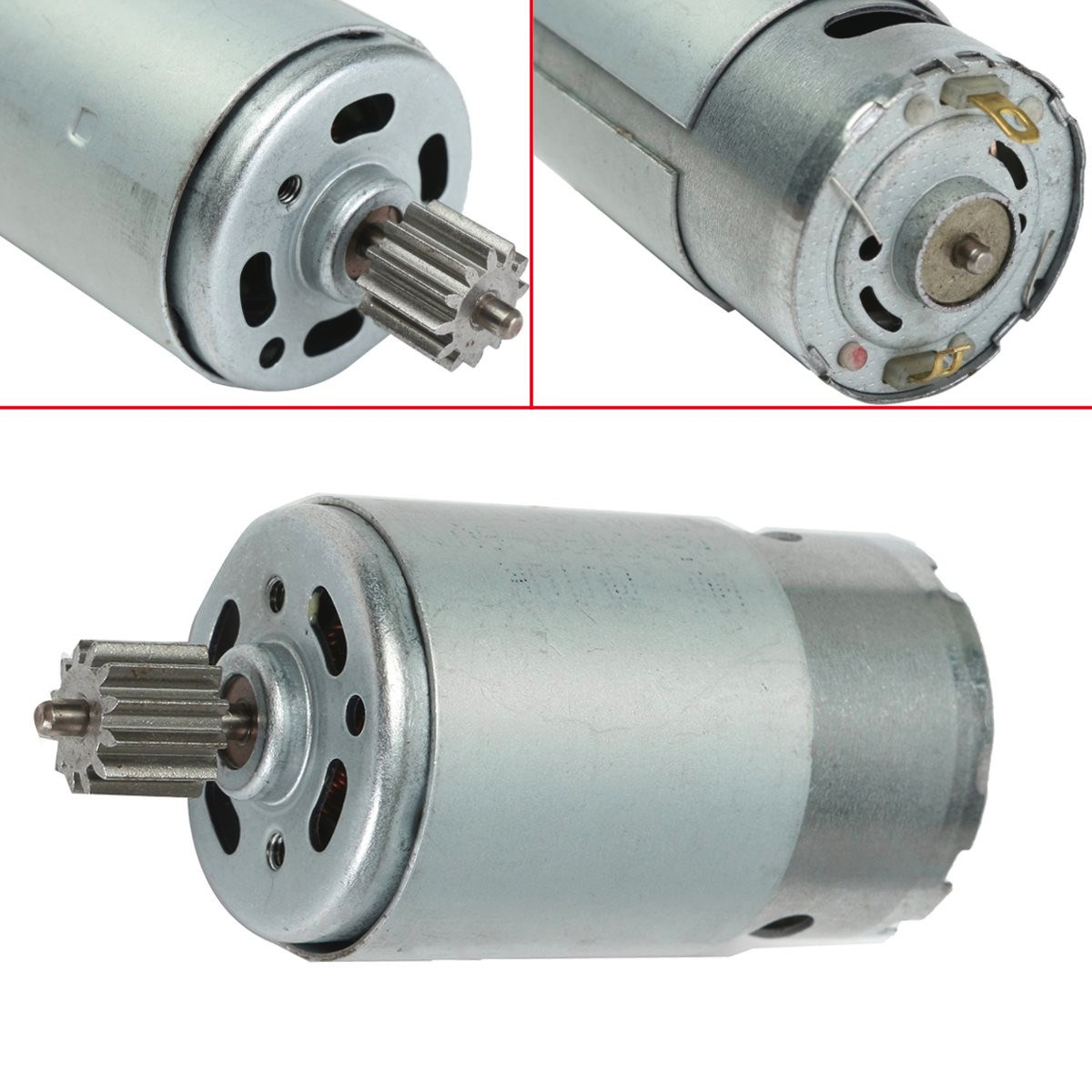 6v 18000 30000rpm Electric Motor Gear Box For Kids Ride On Bike Car Toy
