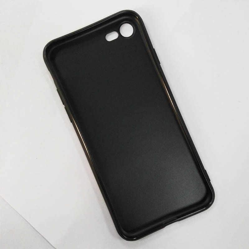 Maiyaca The Weeknd Desain Fashion Kulit Hitam Tipis Sel Kasus untuk iPhone X XS XR Xsmax 6 6 S Plus 7 7 Plus 8 8 PLUS 5 5 S SE Case Cover