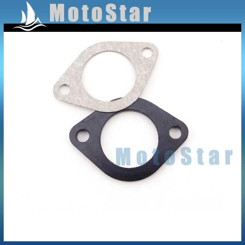 10x Carburetor Engine Manifold Intake Inlet Pipe Spacer Seal 30mm Gasket  For Motorcycle Pit Dirt Bike 150cc 160cc 250cc