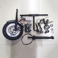 36V 350W MOTOR KIT Electric Handcycle Folding Wheelchair Attachment Hand Cycle Bike DIY Wheel Chair Conversion Kits