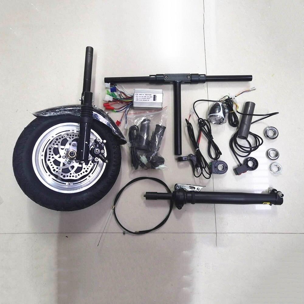 36 V 350 W KIT moteur électrique Handcycle pliant fauteuil roulant pièce jointe vélo bricolage KIT de Conversion de fauteuil roulant