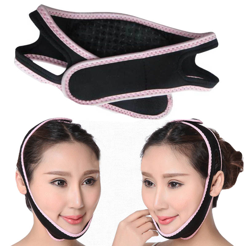 Slim Face Care face mask lift Correction Bandage Mask Night and Day Using Slim Shaper Thin Face Belt Burn the Fat of Your Face health care body massage beauty thin face mask the treatment of masseter double chin mask slimming bandage cosmetic mask korea