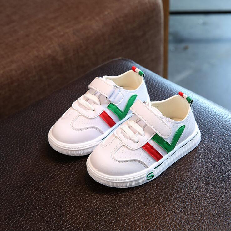 2018 Spring Autumn Children Shoes Girls Sneakers For Boys Shoes Sport Mesh Breathable Student Casual Shoes For School Sneakers
