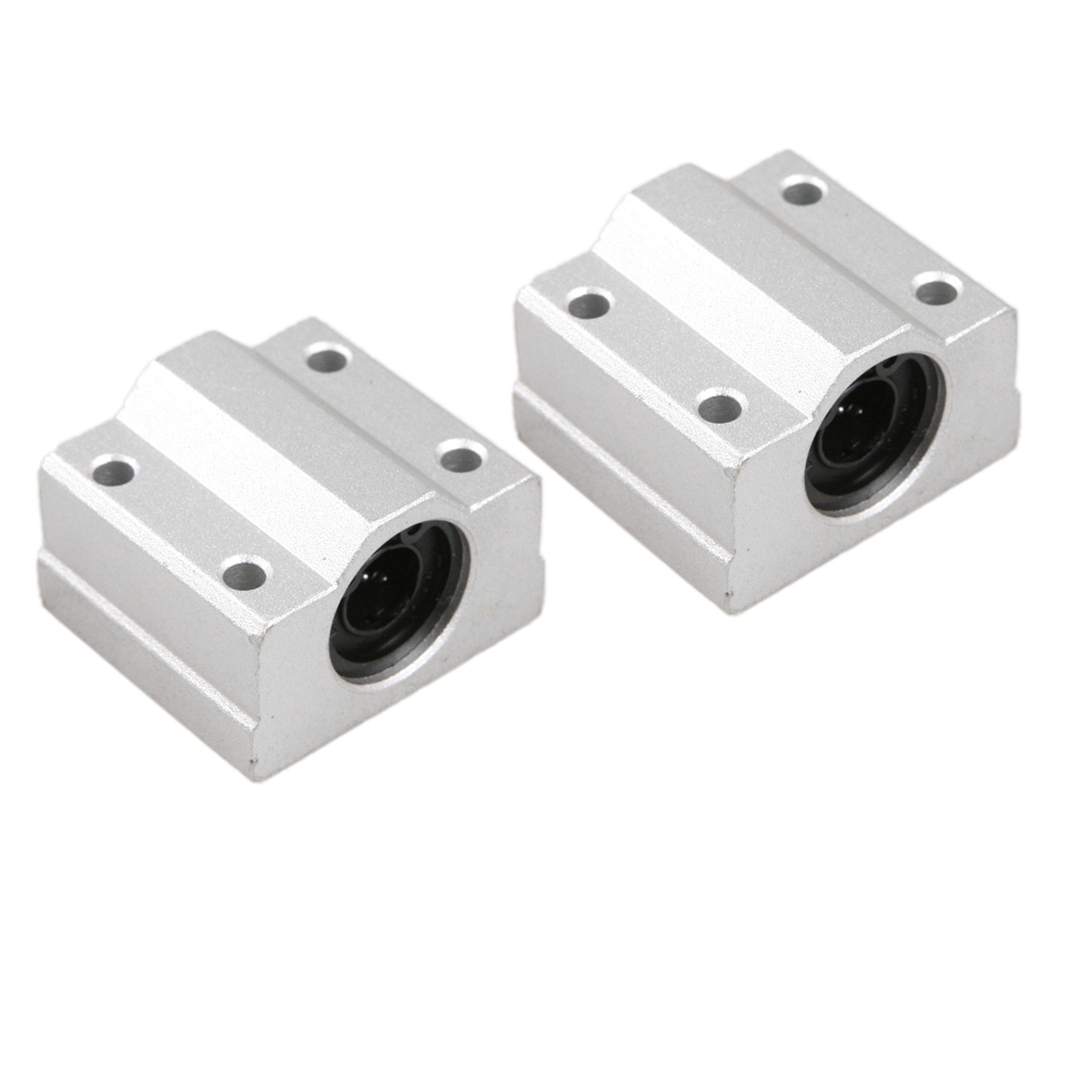 2PCS SC10UU 10mm Slide Unit Block Bearing Steel Linear Motion Ball Bearing Slide Bushing Shaft CNC Router DIY 3D Printer Parts transcend ts32gmts400