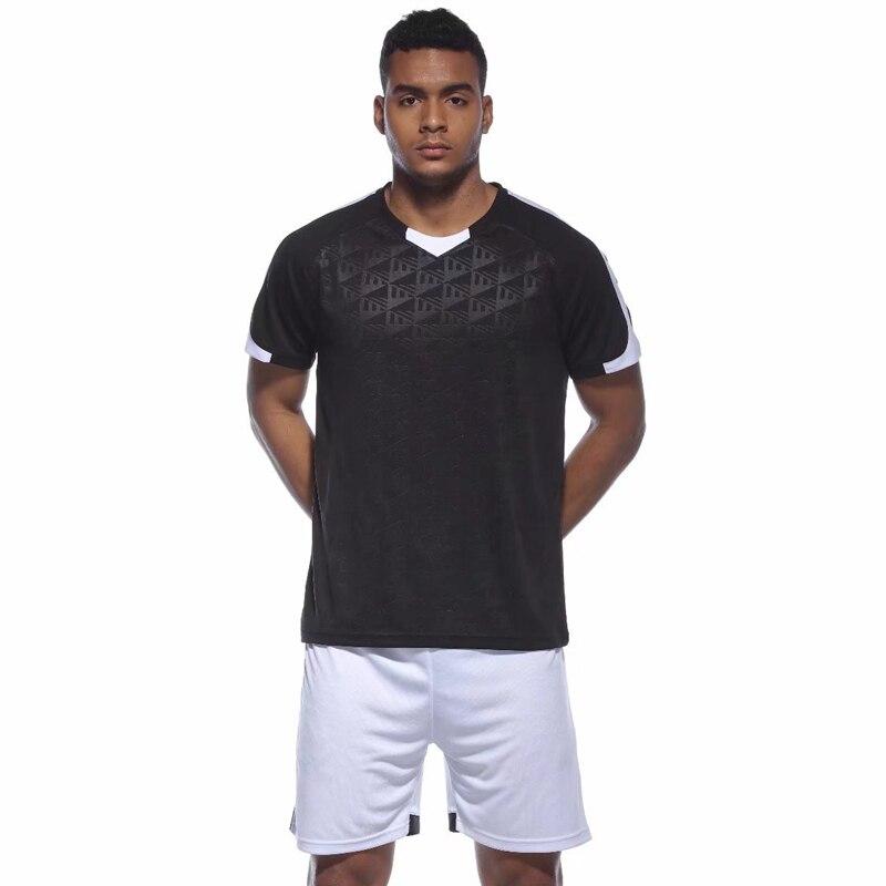 Men kids Football Jerseys 2018 training Soccer Jerseys Breathable Sports Team game Jersey Uniforms Set Shirt + Shorts 3XS-3XL