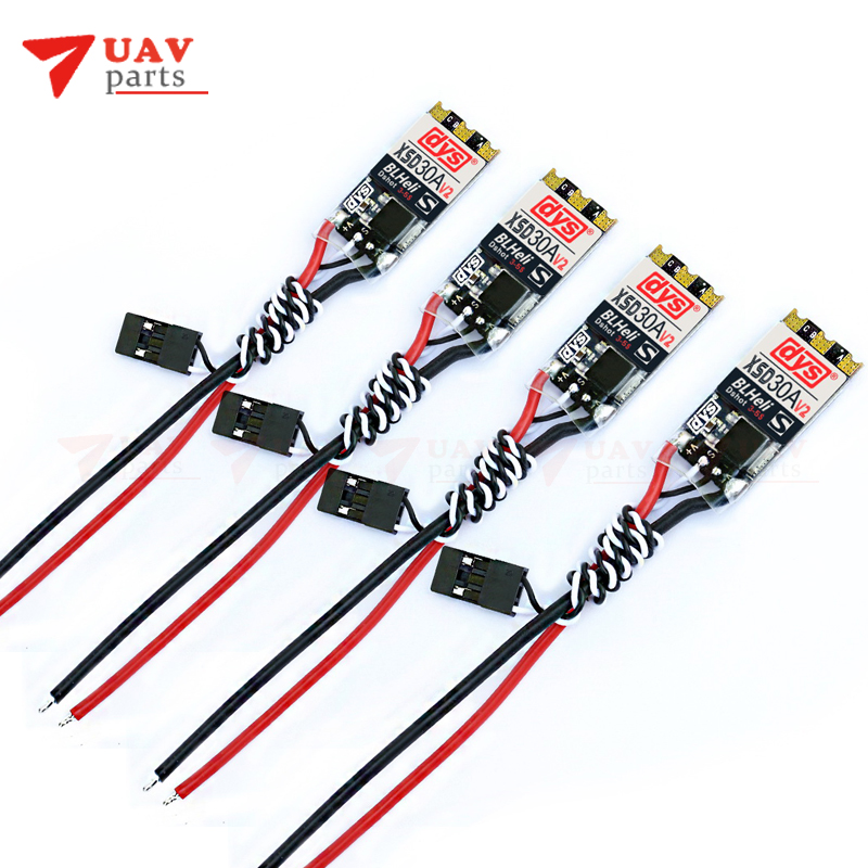 4pcs lot DYS XSD 30A V2 3 5S ESC BLheli S Dshot600 Dshot300 This is V2
