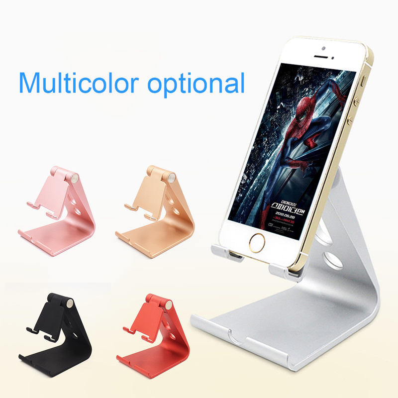 Mobile Phone Accessories Mobile Phone Holders & Stands Latest Collection Of Mobile Phone Holder Stand For Iphone 7 8 X Adjustable Tablet Stand For Ipad Foldable Desk Cell Phone Holder For Phone For Xiaomi