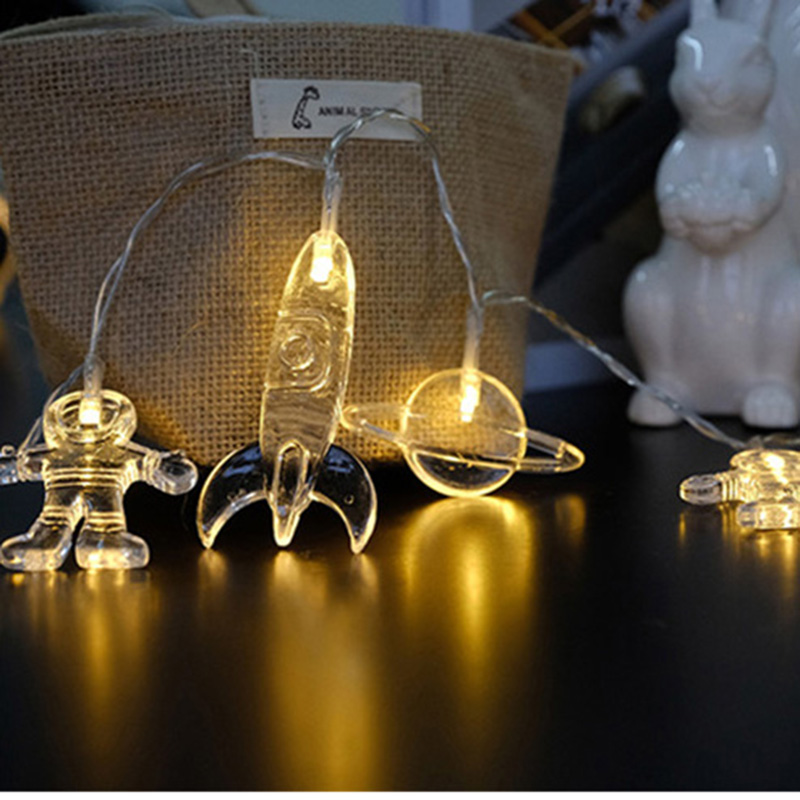 LED String Lights Luminous Toys Fairy Garland Lamp Christmas Decorations for Kids Xmas Tree Wedding Party Home Garden Decor