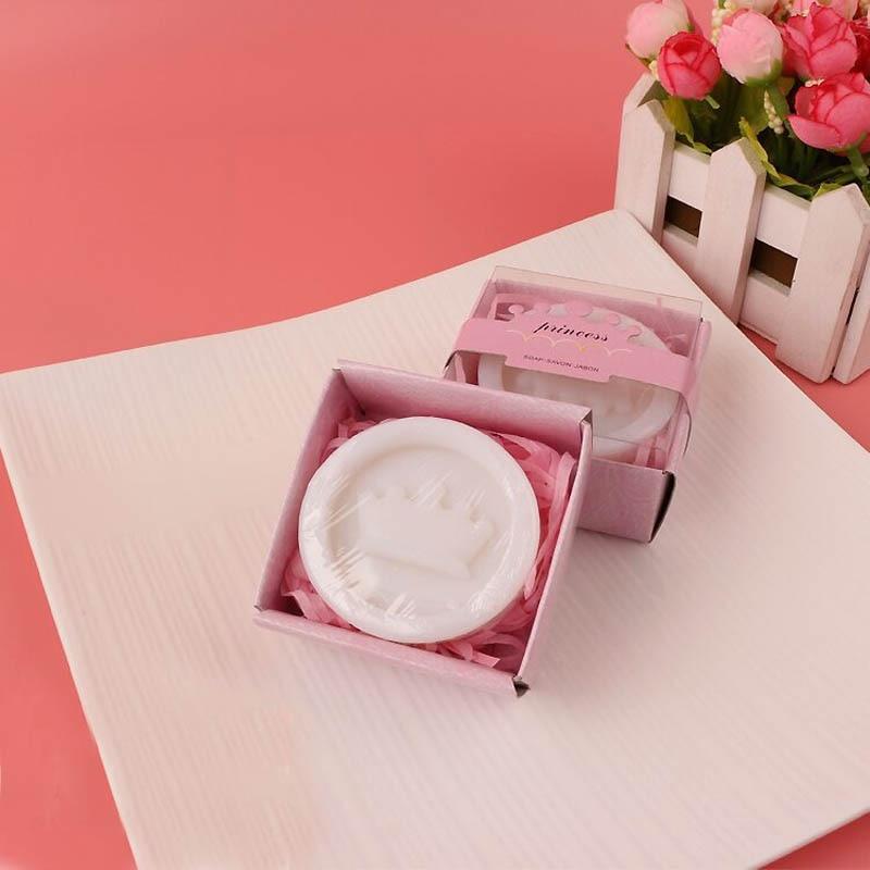 20 шт./лот мини-мыло ручной работы с ароматом для сувенир для свадебной вечеринки и детского душа подарок Свадебные сувениры Мыло для купания - Цвет: crown