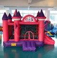 Melhor inflável princesa castelos brinquedos infláveis trampolim criança das crianças chirstmas presente para chirldren