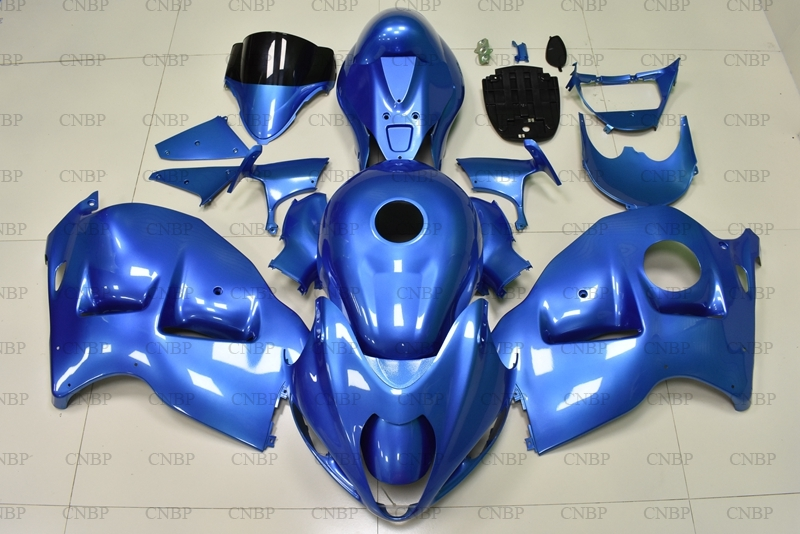 GSX R1300 03 04 Body Kits GSX R1300 1997 2007 Blue Fairing Kits GSXR 1300 2001 Abs Fairing