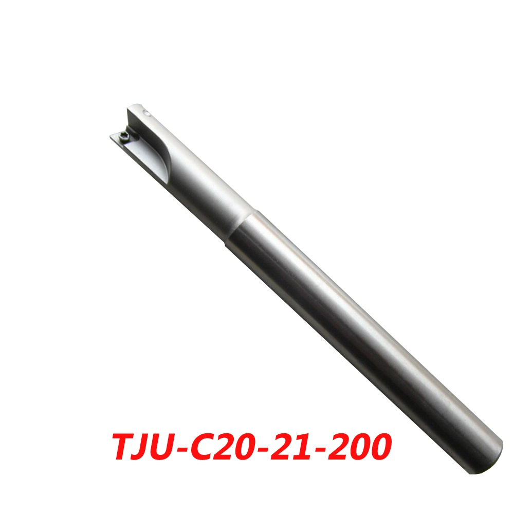 TJU-C20-21-200 Indexable Drilling And Milling Cutter Arbor For CCMT060204+CPMT090204Z Carbide Insert hot selling indexable profile milling cutter bmr01 020 xp20 s tool holder matched for carbide insert spmt060304 zdet08t2cyr10