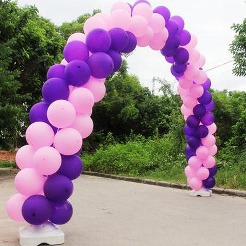 Grand arc de ballon de 5 m x 4 m pour la décoration de lieu d'événement de noce