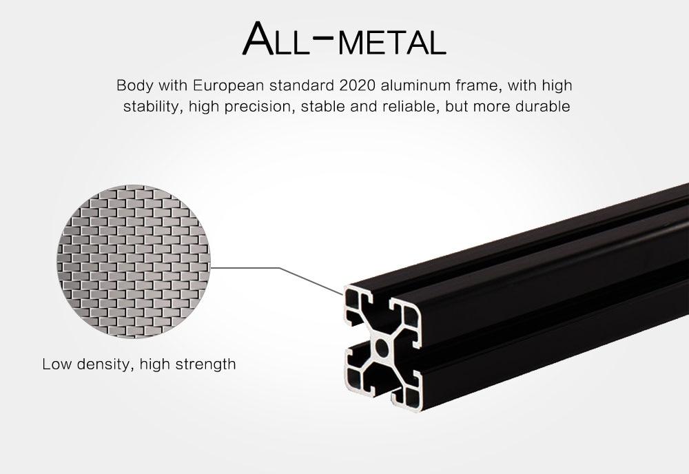 Flsun Square 3D Printer Kit Large Printing Area 260*260*350mm 3D ...