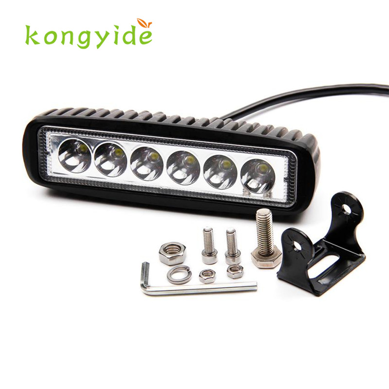 2017 18W Flood LED Light Work Bar Lamp Driving Fog Offroad SUV 4WD Car Boat Truck fashion hot  drop shipping nov1 распылитель hagen гибкий 88см