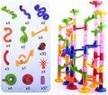 105 шт. DIY пластиковых труб ассамблеи вставляется детей разведки головоломки трекбол игрушки kid perle a repasser brinquedos educativos