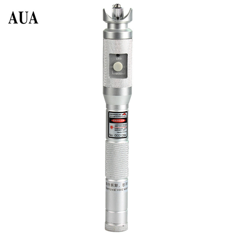 AUA-2S-30 Fiber Optical Cable Tester Red Light Source 30mw Fiber Optic visual Fault Locator 30km with 2.5mm ConnecotorAUA-2S-30 Fiber Optical Cable Tester Red Light Source 30mw Fiber Optic visual Fault Locator 30km with 2.5mm Connecotor