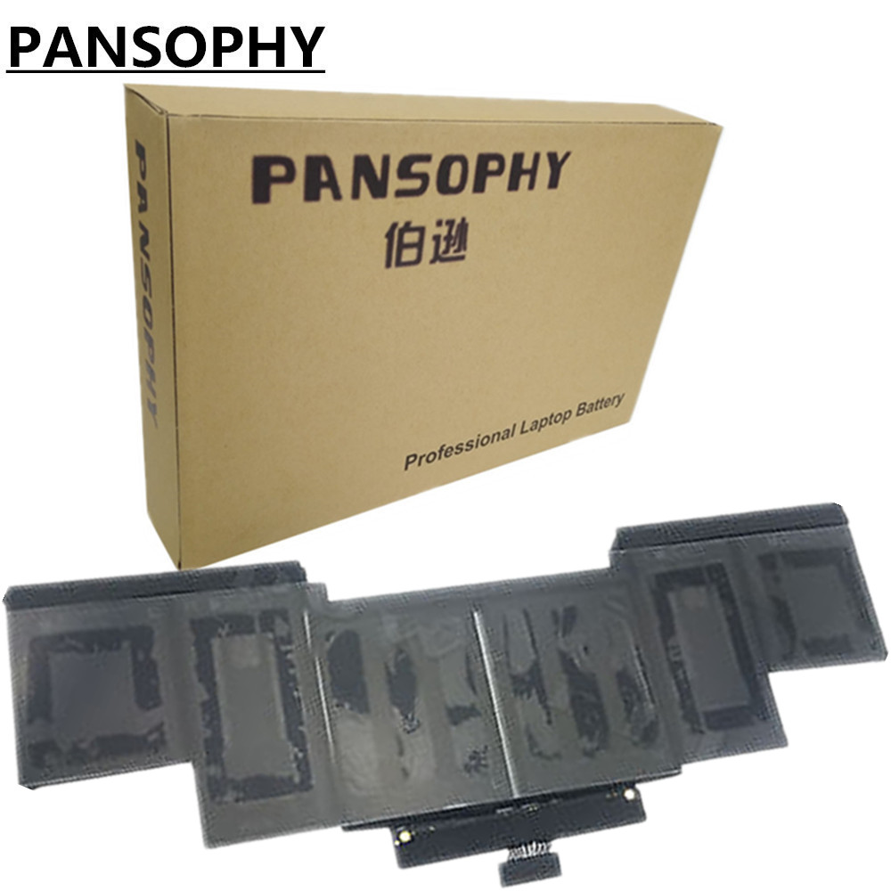 PANSOPHY 8755mAH 11.36V 99.5wh Laptop Battery A1618 For Apple FOR MacBook Pro 15 Retina A1398 2015 Year With High Quality rito для apple macbook retina pro 15 beige