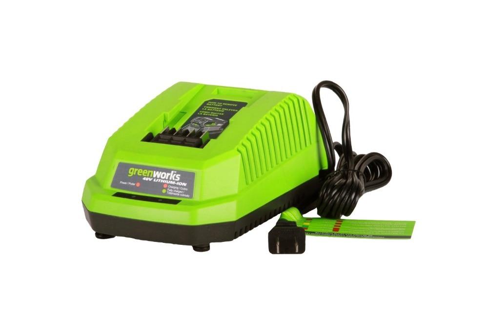Carregador de Bateria de Lítio Carregador para 40 Frete Grátis Greenworks G-max 40 v Bateria Li-ion 29472 29482