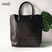 novelty women extra size large capacity genuine leather tote handbag lady luxury designer one shoulder bag 100% cow leather bag цены онлайн