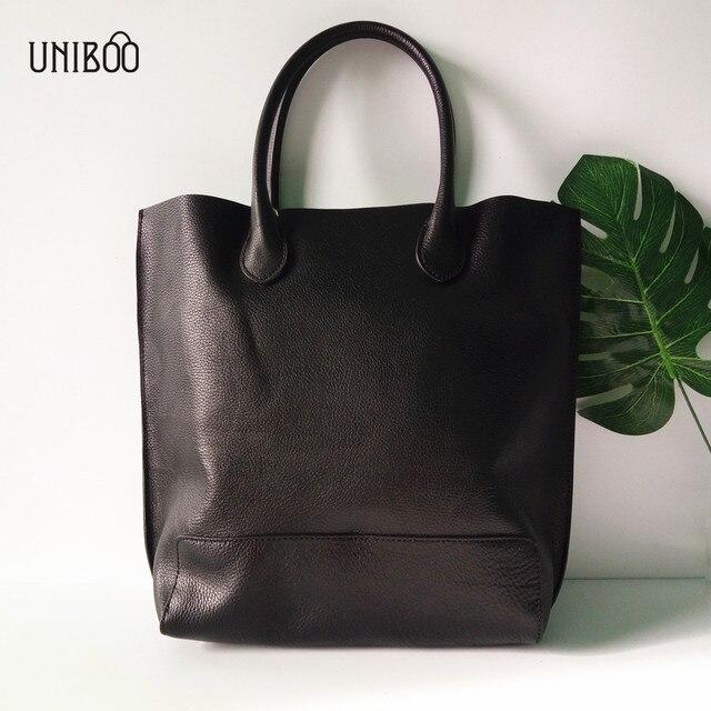 f41415d262c1a novelty women extra size large capacity genuine leather tote handbag lady  luxury designer one shoulder bag 100% cow leather bag