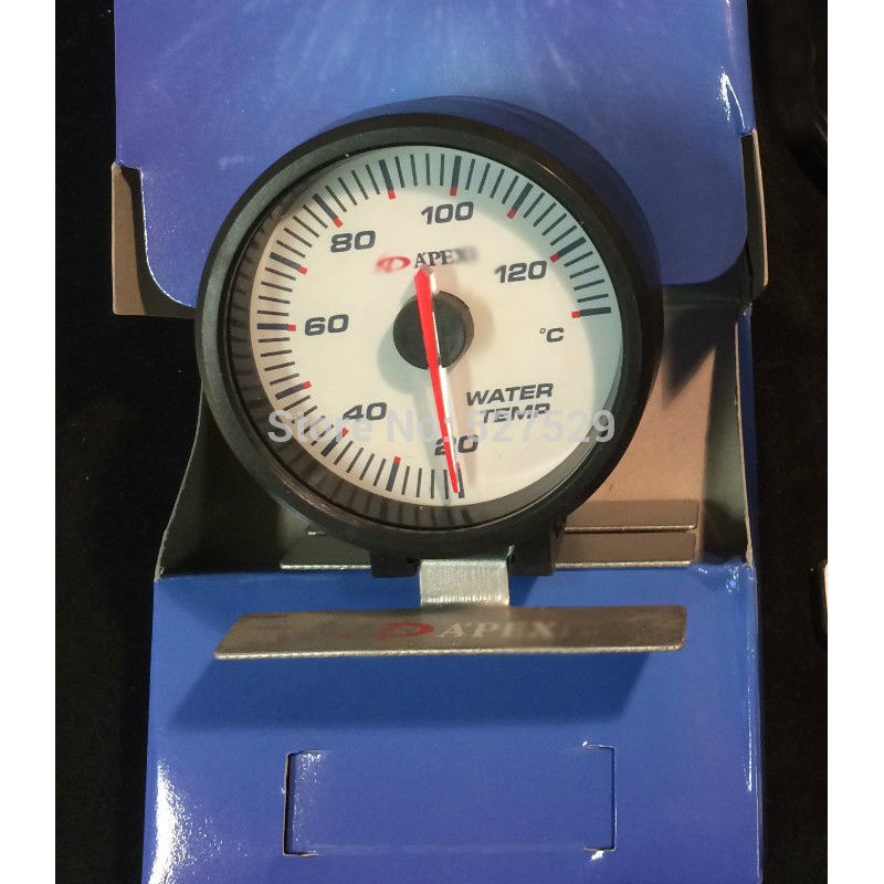 60mm Water Temp Gauge High Quality Temperature Meter Auto
