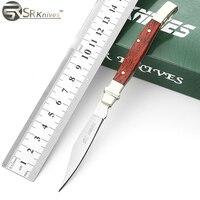 Folding Knife SR Pocket Survival Knives Camping Hunting Knife 420 3Cr13 Stainless Steel Blade Outdoor EDC
