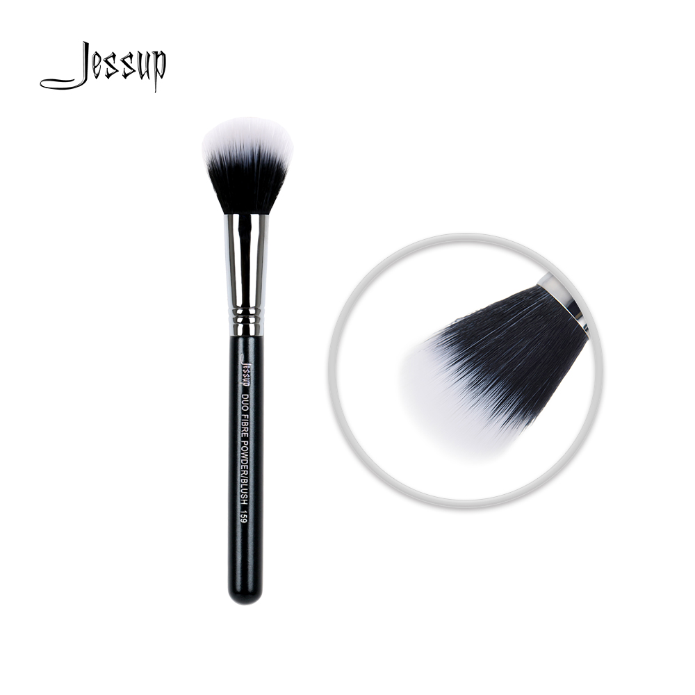 Jessup High Quality Materials Professional Face brush Makeup brushes Duo Fibre Powder/Blush 159