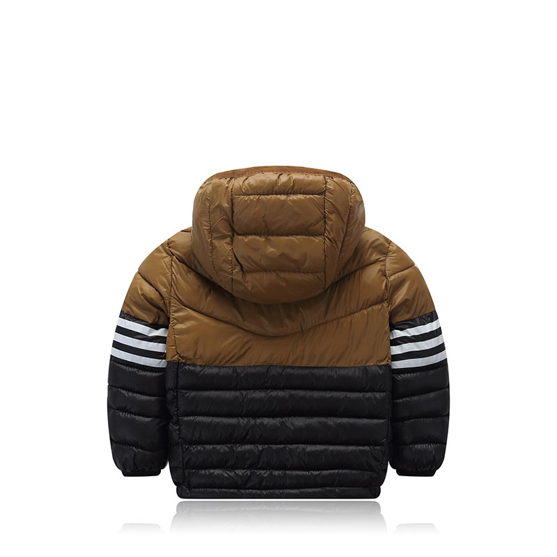 5b5745ec6 Winter For Children Casual Fashion Thick Warm Zipper Hooded Baby Toddler  Snow Wear Outerwear Down Coat Clothes