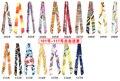 Wholesale Scarves High quality silk twilly slanting stripe silk small ribbon silk scarf hair scarf