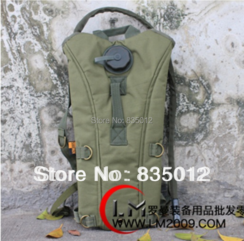 Tactical Outdoor Military 2 5L Hydration Bladder 3L backpack water bag rucksack for bicycle camping Green