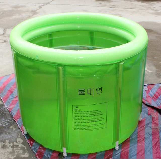 inflatable bath tub adults Folding large inflatable bathtub 80*100cm ...