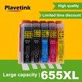 Plavetink 5 шт. для HP655 Замена для HP 655 XL 655XL чернильный картридж Deskjet 3525 5525 4615 4625 4525 картриджи для принтера