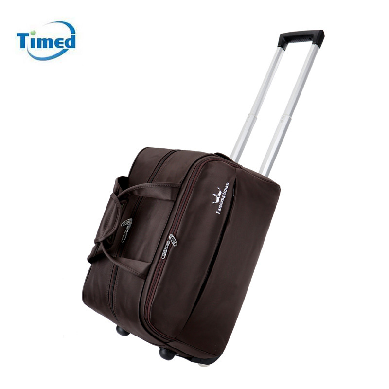 842867b03c87 Travel Bag Hand Luggage 20 Inch Rolling Duffle Bags Waterproof Oxford  Suitcase Wheels Carry On Luggage Unisex