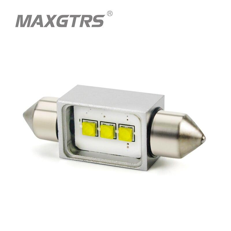 5x автомобиль гирлянда C5W светодиод cree чип 15 Вт Лампы CANBUS ОШИБОК лампы купола Лампы для чтения 31/36 /39/41 мм для Toyota Honda