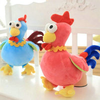 30Cm Small One Cute Lovers Chicken Plush Toys Chinese Zodiac Cock Cloth Doll Animals Stuffed Plush