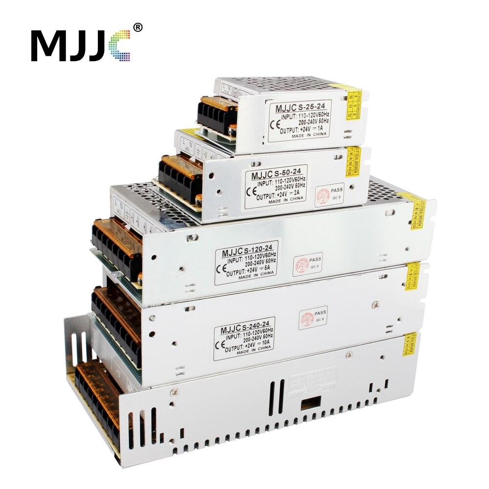 24V Power Supply Unit 2A 3A 5A 10A 24 volt LED Strip Power Supply Driver for LEDs CCTV 110V 220V to DC24V Transformer 20A 40A