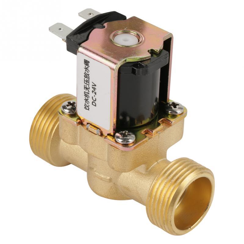 GemäßIgt 24 V Bspp G3/4 Messing N/c Elektrische Magnetventil Stromlos Geschlossen 2 Weg Druck Regelventil Ventil