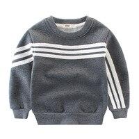 2 10Y Kids Thick Sweatshirt Boys Warm Outwear Long Sleeve Tops Tee Enfant Clothes Autumn Winter