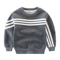 2 10Y Kids Thick Sweatshirt Boys Warm Outwear Long Sleeve Tops Tee Enfant Clothes Autumn Winter