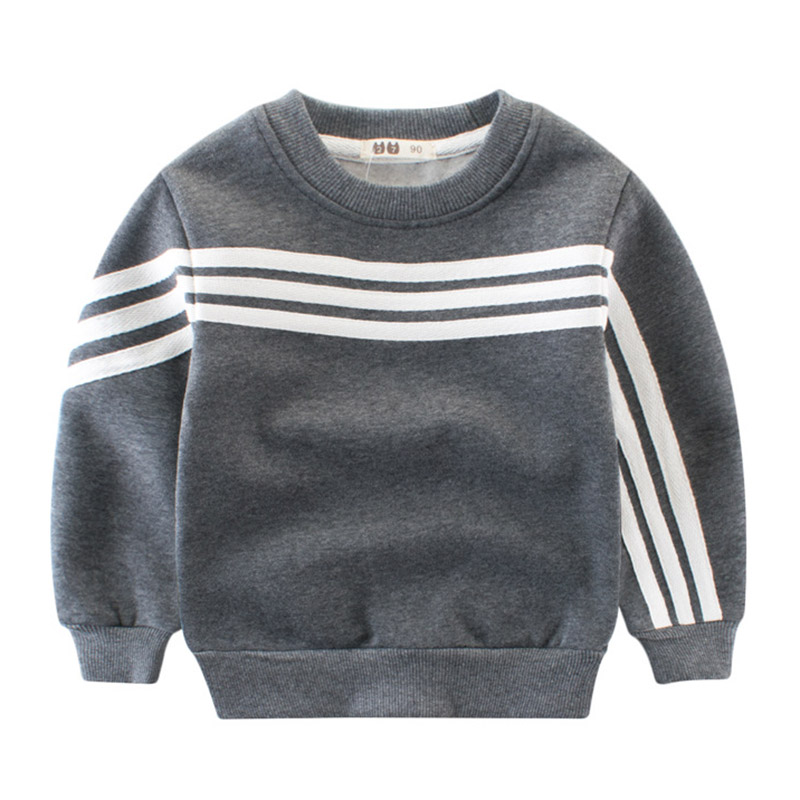 все цены на 2-10Y Kids Thick Sweatshirt Boys Warm Outwear Long Sleeve Tops Tee Enfant Clothes Autumn Winter Children Baby Boys T Shirts