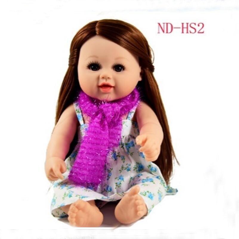 Последний Новый 48 см передвижные совместных Средства ухода за кожей принцессы красотка кукла свадебные Дизайн платье Люкс Детские игрушки ... ...