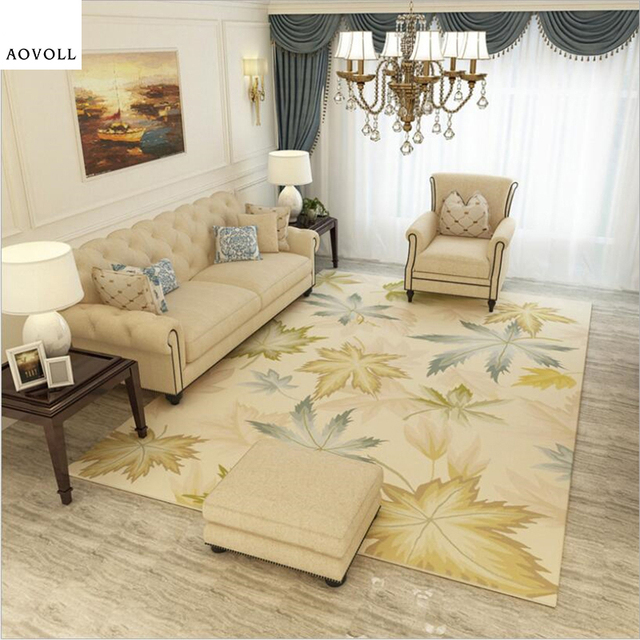 High Quality AOVOLL Creative Soft Large Carpets For Living Room Bedroom Kid Room Rugs  Home Carpets Floor Door