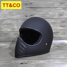 Men motorcycle helmet TT & CO Japanese Thompson full face motorcycle helmet Ghost Rider racing helmets capacete casco moto