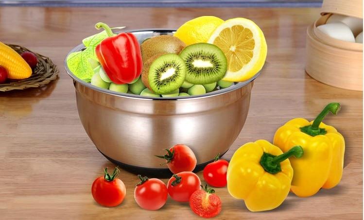1ПЦ здјела са салатом од челика за - Кухиња, трпезарија и бар