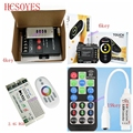 4key/6key/19key DIY 2 4G RGB RF IR remote s RGB touch беспроводной светодиодный контроллер двухцветная температурная лампа с модулем 30A