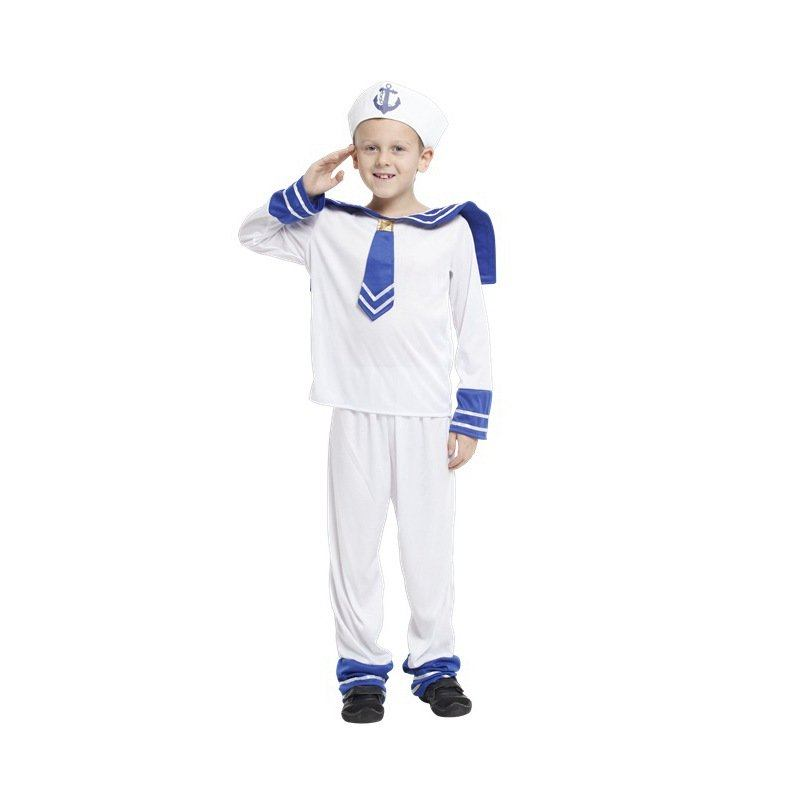 Sailor boy costume for kids fancy dress