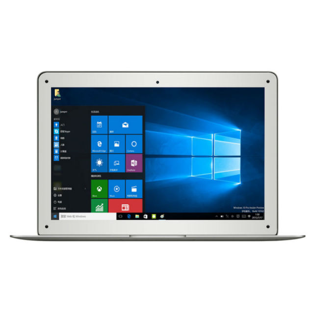 Jumper EZbook A13 13.3 Inch Ultrabook Computer Intel Atom Z3735F 1920 x 1080 IPS Display 2GB RAM 64GB ROM Windows 10 Laptop