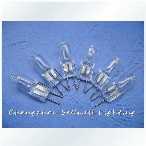 Great!jc 6v 35w G6.35 Warm Light (yellow) Long Life General Crystal Halogen Bulb E041