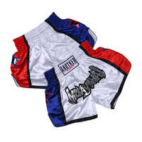 Hot MMA Shorts kickboxing Fight Grappling Short Muay Thai boxing shorts sanda mma Men's Boxing Pants Printing Color matching